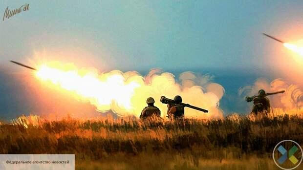 ВСУ безнаказанно обстреливают Донбасс