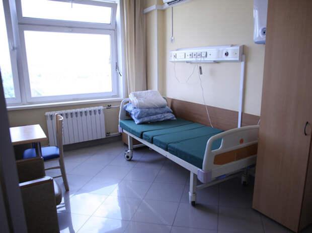 В элитном подмосковном госпитале покончил с собой больной под капельницей