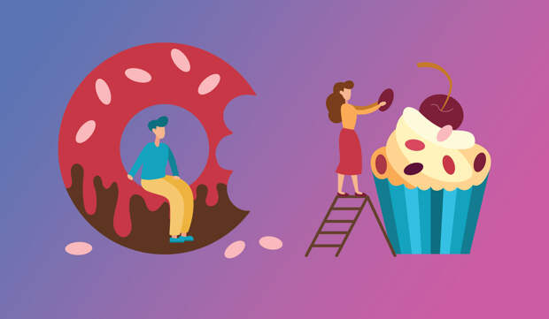 Дневная норма сахара (и добавленного сахара) —для мужчин и для женщин