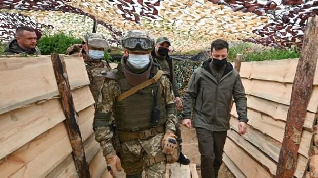 """Зеленский пригрозил создать """"самую мощную армию"""" в Европе для победы в Донбассе"""