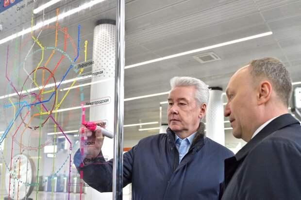 Бочкарёв: Участок ЮВХ от Курьяновского бульвара до Кантемировской улицы готов более чем на треть