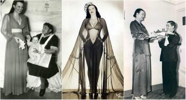 «Королева амазонок»: самая высокая звезда бурлеска ЛоисДефи