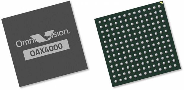 Процессор обработки сигналов изображения OmniVision OAX4000 призван упростить проектирование автомобильных камер