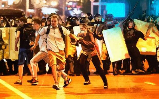 Эксперт Кононович назвал основных участников протестов в Белоруссии