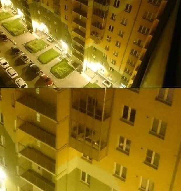 Всегда задумываешься над тем, как автовладельцы разместили машины на балконах балкон, балконы, на балконе, прикол, че за хрень на балконе?, юмор