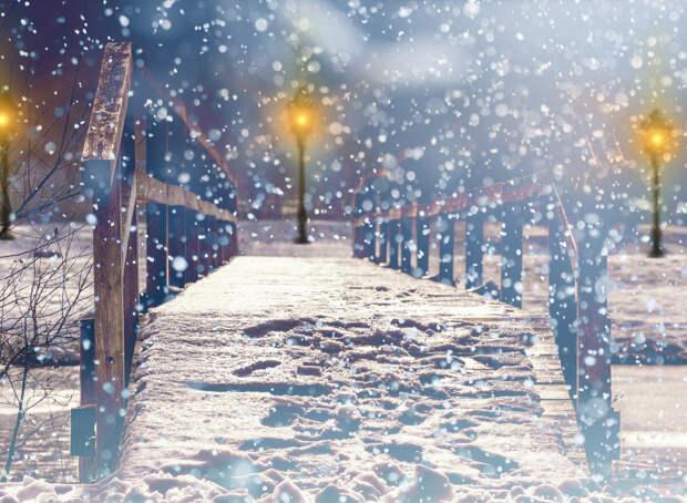 Снег кружится, летает, летает... (новогодняя история)