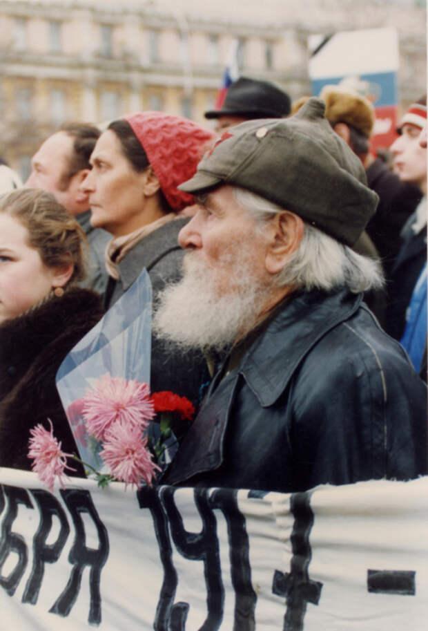 Новейшая история России: знаковые фотографии Рейема Каннингэмома, сделанные в Москве в 1991 году