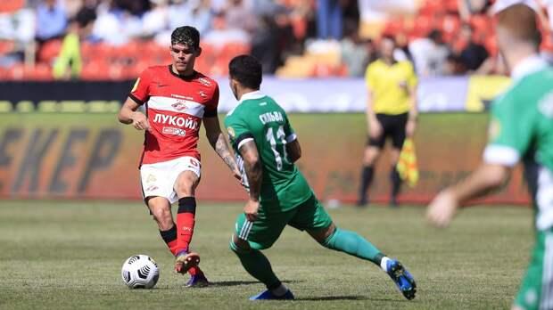 «Спартак» сыграл вничью с «Ахматом» и пробился в квалификацию Лиги чемпионов