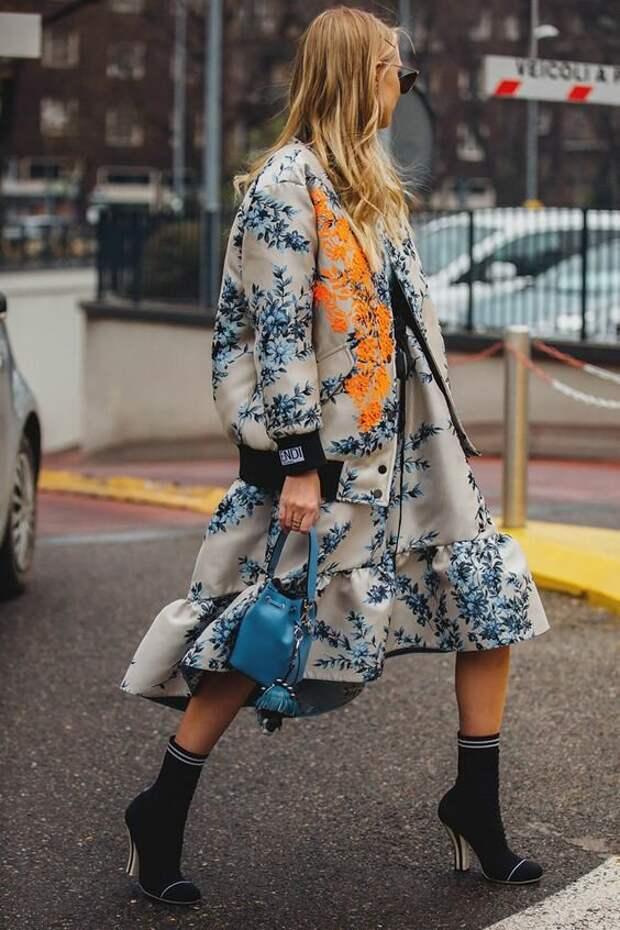 Цветочный принт 2021: 15 модных образов