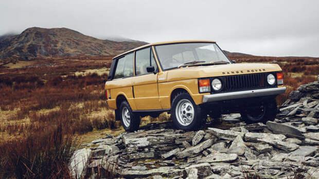 Сон наяву: Land Rover возобновил выпуск классического Рейндж Ровера