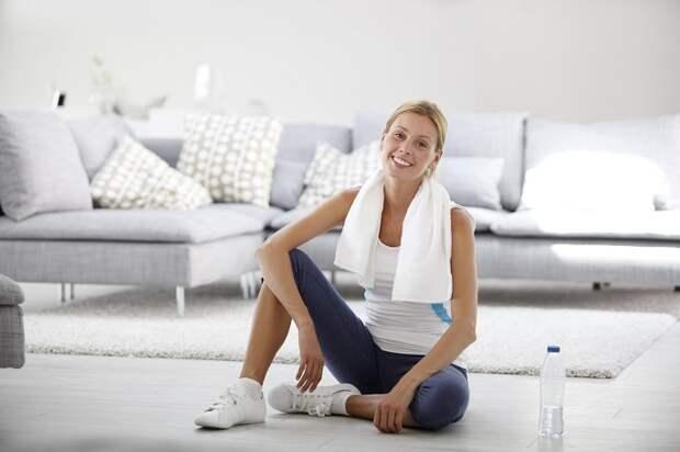 Простые упражнения для похудения дома — создаём стройную фигуру