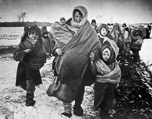Как немцы поступали с советскими беженцами из блокадного Ленинграда