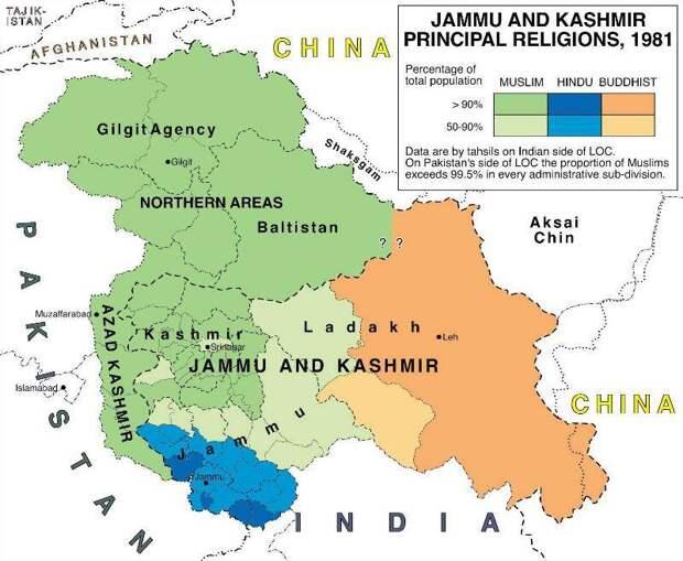 Погибнут 100 миллионов. Индия и Пакистан могут развязать ядерную войну