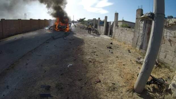 ВКС бьют по террористам Идлиба в ответ на подрыв российского бронеавтомобиля