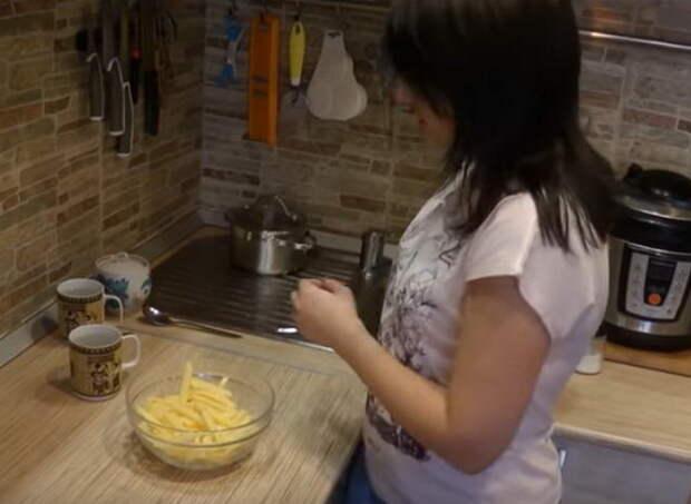 Приготовление картошки фри в домашних условиях.