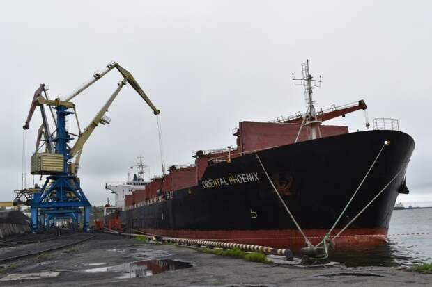 Грузооборот морских портов России за январь-август вырос на 1,6%