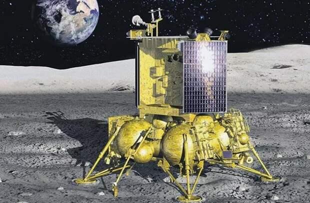 """В России планируют запуск межпланетной станции """"Луна-25"""""""