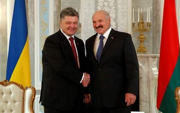 Порошенко и ЧВКшники в Белоруссии