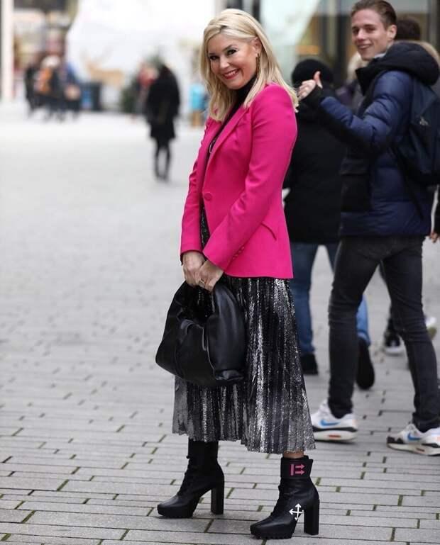 Стильные образы для дам 40+ от блогера из Германии