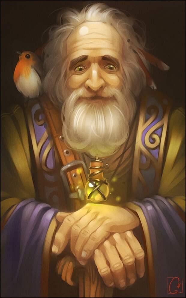 История о том, как мой дед колдуном стал