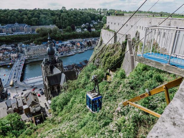 Динан — один из самых красивых городов Бельгии