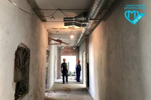 Строительные работы в поликлинике на Флотской выполнены на 50% — руководитель проекта