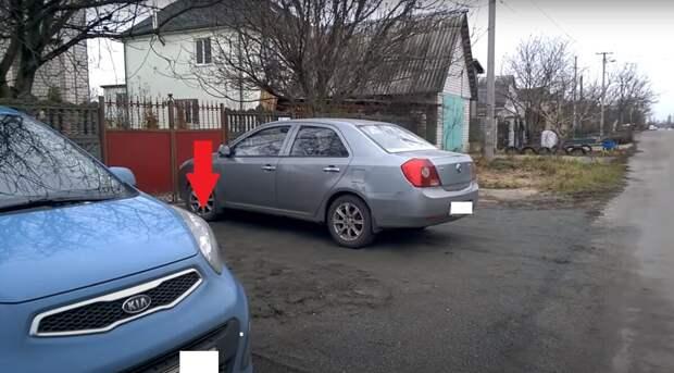 Простой способ парковки под 90 градусов по ориентирам. Хитрость от автоинструктора
