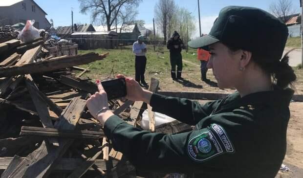 ВКазани регоператор пожаловался насвалки строительных отходов