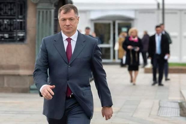 Хуснуллин прилетел в Крым и пообещал чиновникам «рабочую программу»