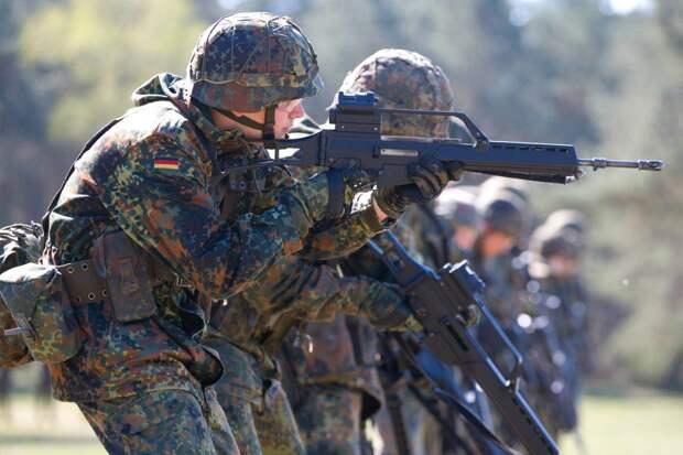 Впервые после Второй мировой войны немецкий милитаризм подал голос