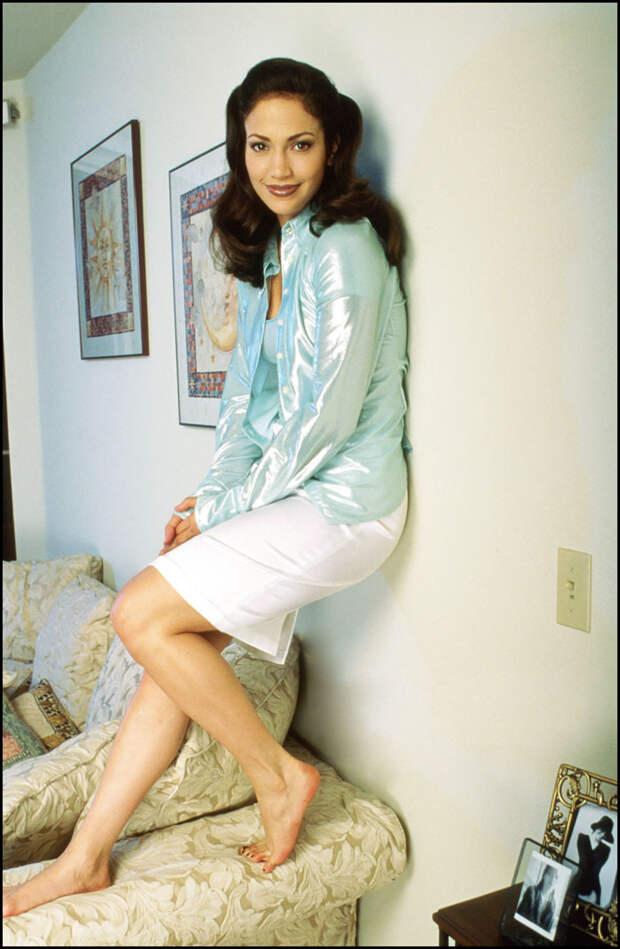 Дженнифер Лопес в фотосессии 1995 года.