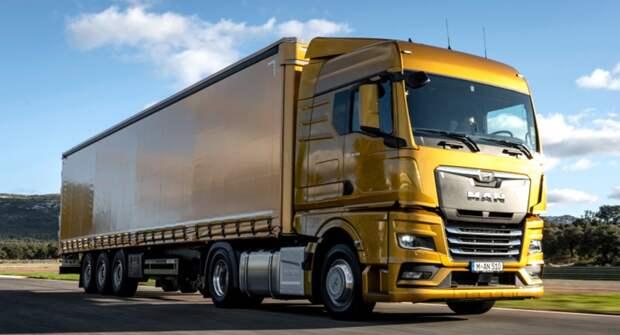 Новые грузовики MAN появились в России