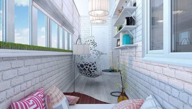 20 идей, как превратить маленький балкон в уголок для отдыха
