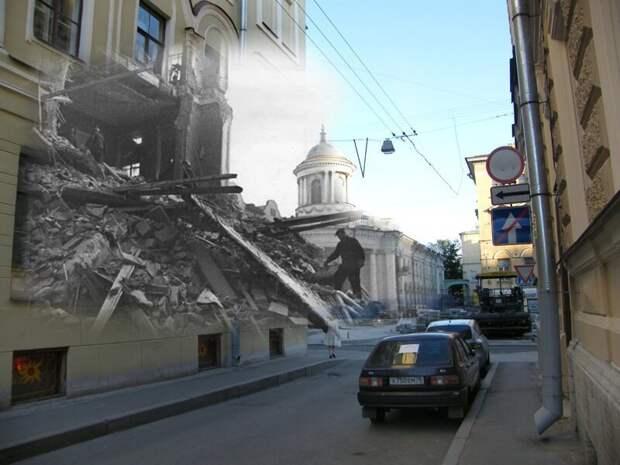 Ленинград 1942-2009 Фурштатская улица 12 блокада, ленинград, победа