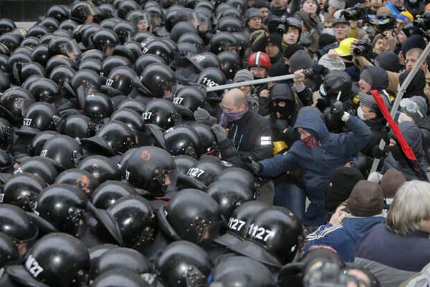 Политический кризис на Украине 2013-2014