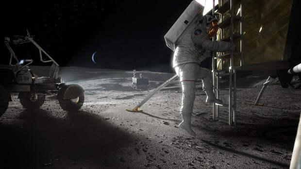 NASA выбрало три частные компании для доставки людей к Луне