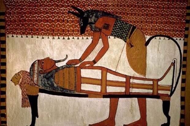 Бальзамирование в Древнем Египте.