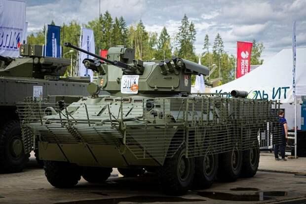 Обновлённый БТР-82АТ начал поступать вмотострелковые войска российской армии