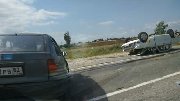 ДТП в Крыму: для водителя «Волги» этот день жизни оказался последним (фото)