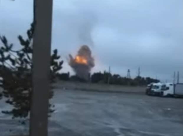 На складе боеприпасов возле Тараза вновь произошёл взрыв