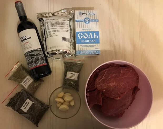 Брезаола сыровяленая говядина из Италии Рецепт, Мясо, Брезаола, Сыровяленое мясо, Вкусно, Длиннопост, Кулинария