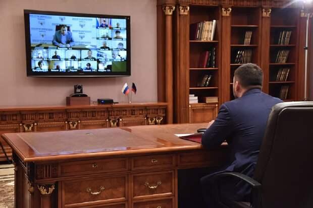 «Большое вам спасибо» – Пушилин обратился к медикам ДНР