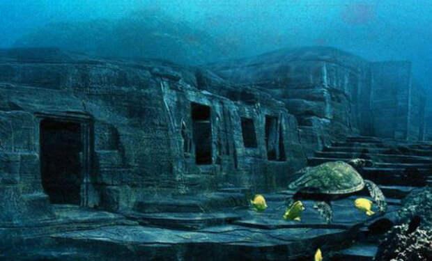 Ученые нашли доисторическую дорогу на дне океана