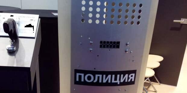 В России испытывают стреляющий полицейский щит
