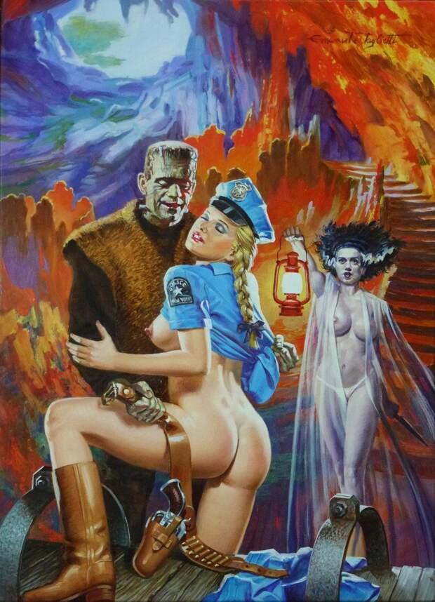 Гремучая смесь на обложках Эммануэля Таглиетти
