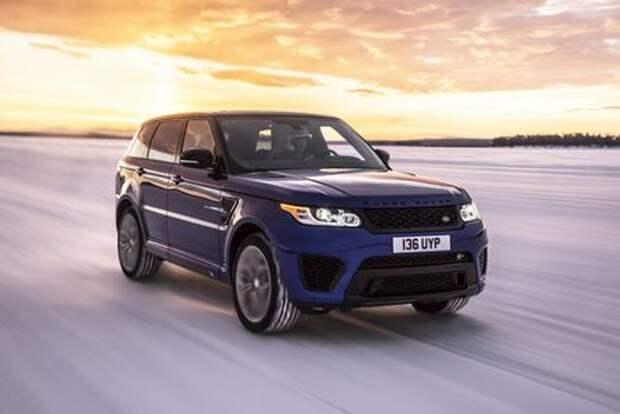 Динамику Range Rover Sport SVR проверили в необычных условиях