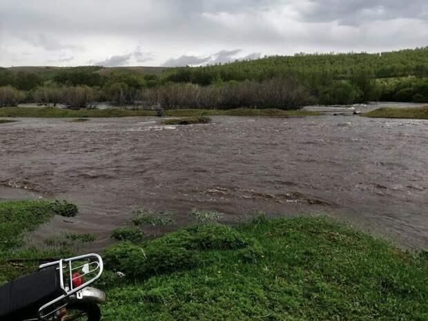 В Нерчинском районе обрушился мост, являющийся единственным способом добраться в центр