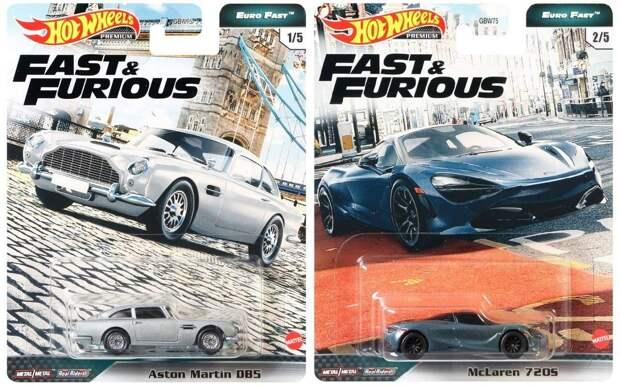 Hot Wheels выпустила серию машинок из «Форсажа»