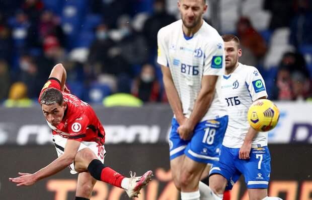 «Спартак» и «Динамо» заплатят больше 500 тысяч рублей штрафа по итогам матча 22-го тура РПЛ