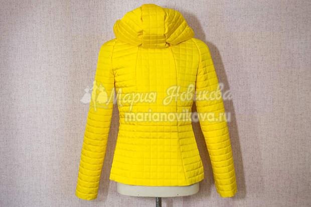 Примерка куртки с капюшоном
